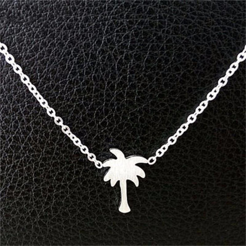 Boho Beach Palm Tree Necklace - Lucas Gadgets