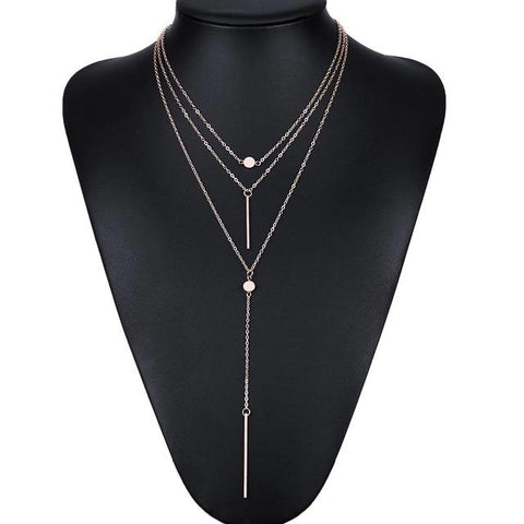 Multi Layer Sexy Drop Necklace - Lucas Gadgets