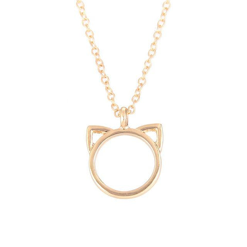 Image of Purrfection Cat Ear Pendant Necklace - Lucas Gadgets