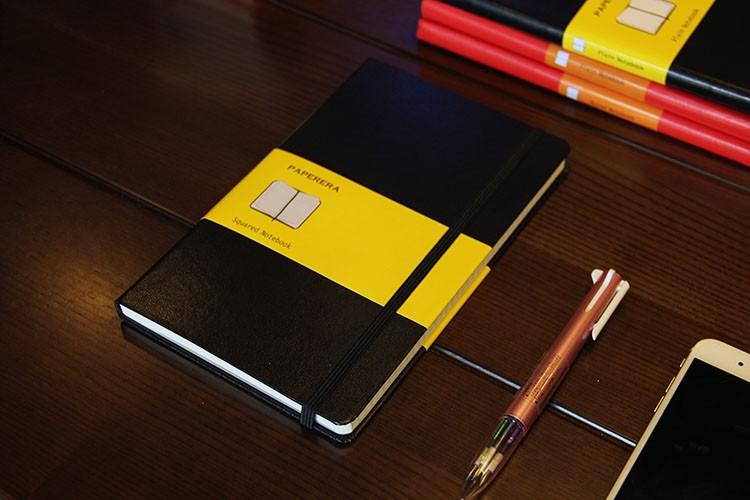 Hardcover Leather Notebook - Lucas Gadgets
