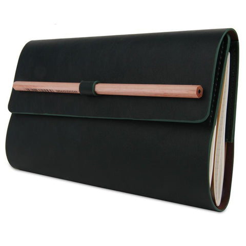 Stylish Leather Notebook - Lucas Gadgets