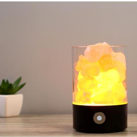 Crystal Salt Night Lamp - Lucas Gadgets