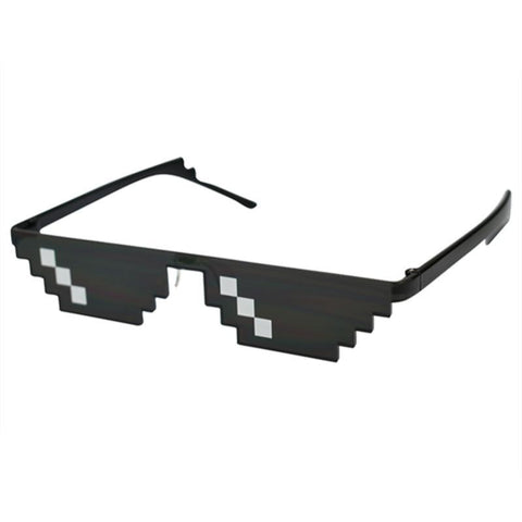 Image of Pixelated Party Sunglasses - Lucas Gadgets