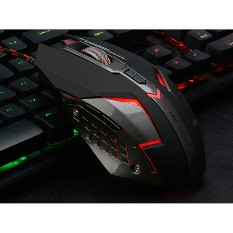 Silent Click Gaming Mouse - Lucas Gadgets