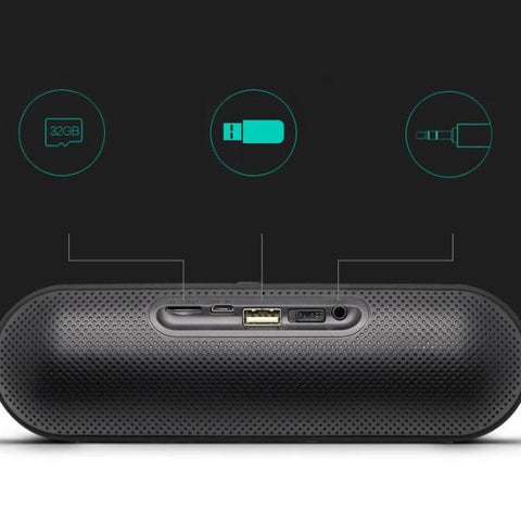 Wireless Bluetooth Bass Stereo Speaker - Lucas Gadgets