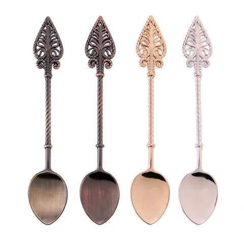 Image of Vintage Style Coffee Spoons (Set Of Four) - Lucas Gadgets