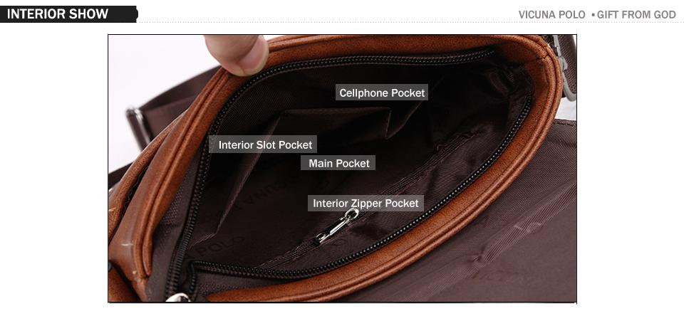 Buckle Design Messenger Bag - Lucas Gadgets