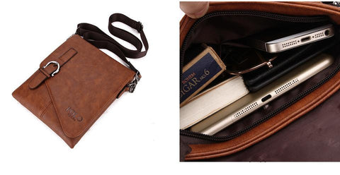 Image of Buckle Design Messenger Bag - Lucas Gadgets