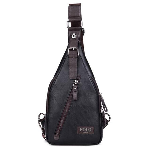 Image of Leather Mens Bag - Lucas Gadgets
