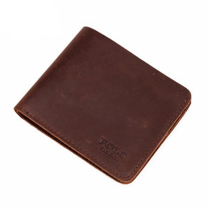 Cool Vintage Leather Wallet - Lucas Gadgets