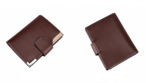 Image of Leather Trifold Wallet - Lucas Gadgets