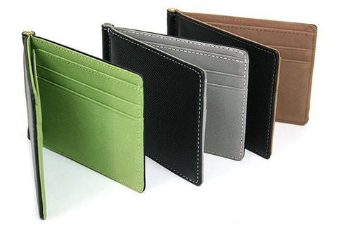 Image of Sleek Money Clip Wallet - Lucas Gadgets
