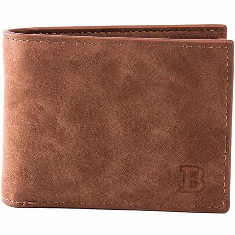 Image of Soft Leather Wallet in Coffee or Black - Lucas Gadgets