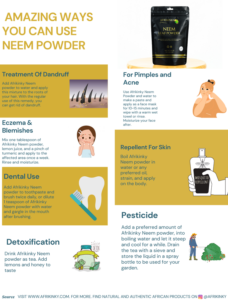 Amazing ways to use Neem powder