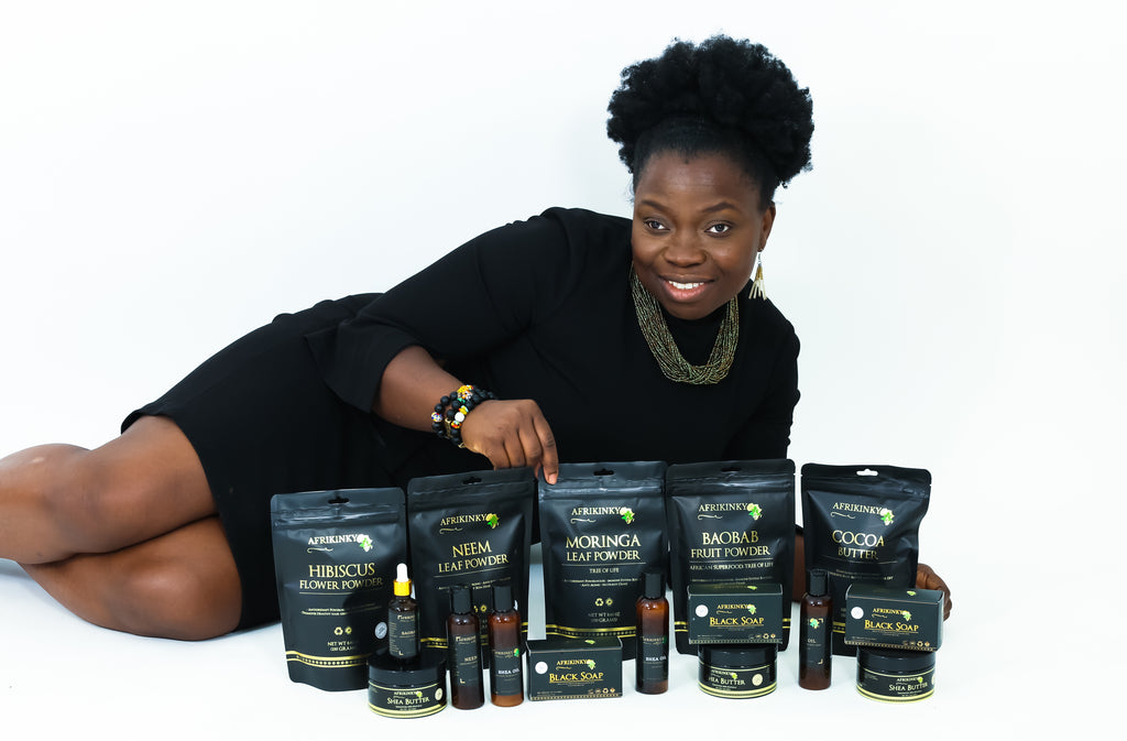 Afrikinky Range of products