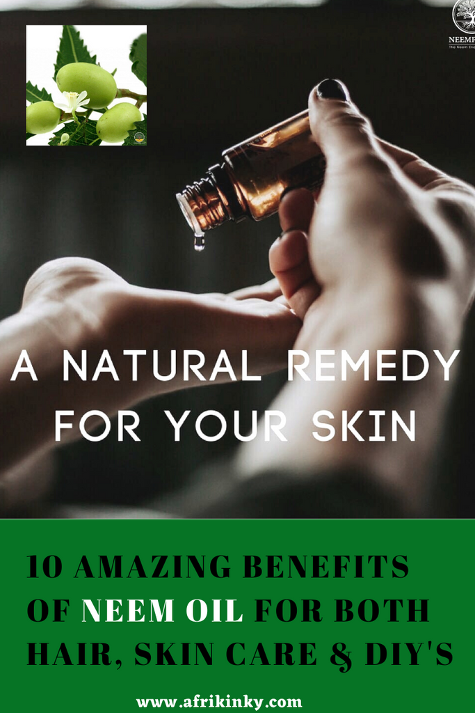 Natural Oils for Skin and Hair- Neem Oil