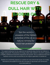 100% Pure Unrefined Cold Pressed Baobab Oil