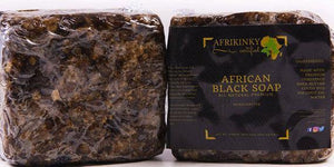 Large Afrikinky Black Soap, Buy 3 for only $19.99 (Value of $27) VIP deal - afrikinky