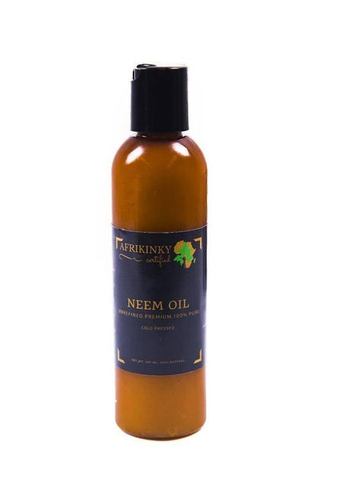 Unrefined Cold Pressed Premium 100% Pure Neem Oil