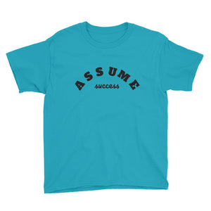 Boy's Assume Success Short Sleeve T-Shirt