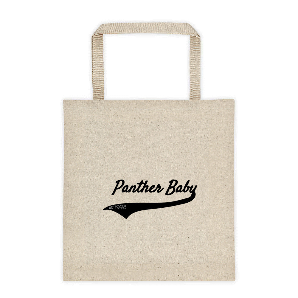Panther Baby Tote bag