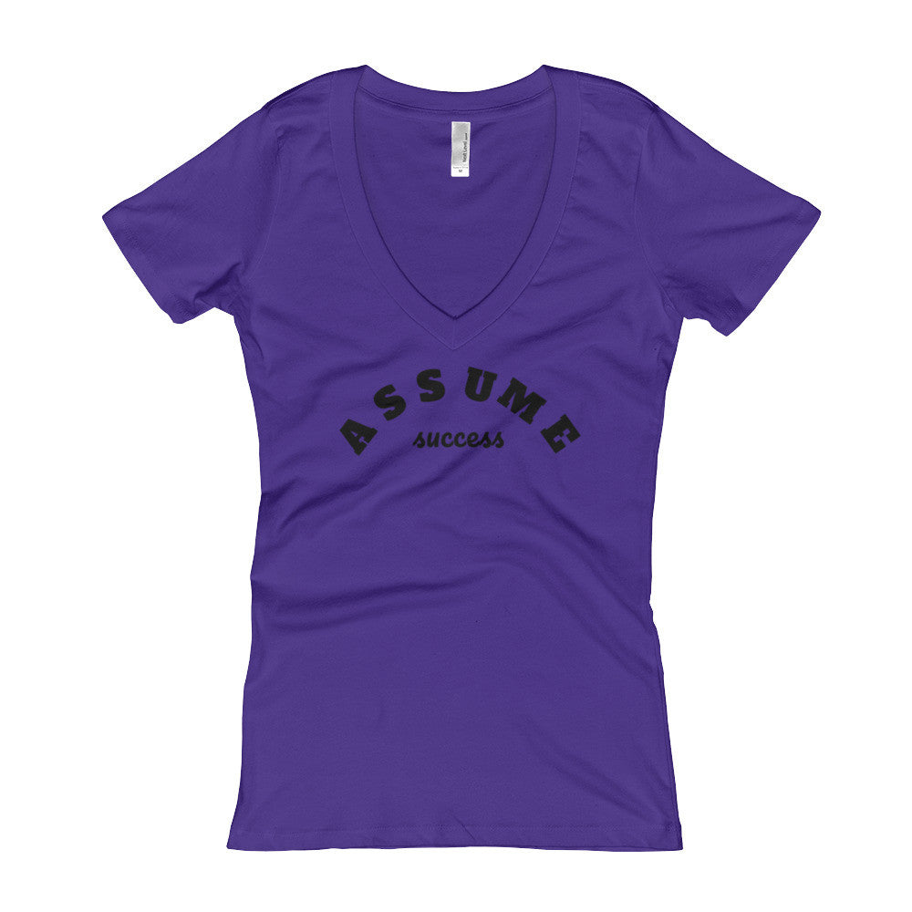 Assume Success V-Neck T-shirt