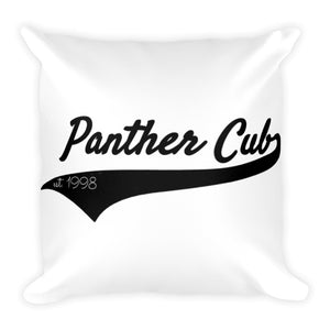 Panther Cub Square Pillow