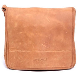 Unisex Messenger Leather Bag