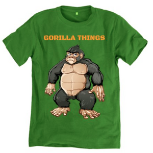 Gorilla Things T-shirt
