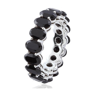Eternity Band Black Spinel