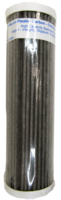 Pleated High Capacity 1 Micron CTO Carbon Filter