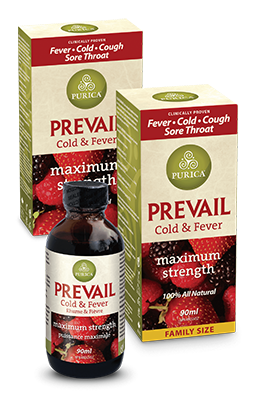 Purica Prevail Boxes and Bottle