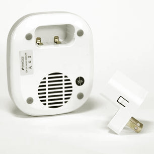 reverse side and plug adapter for pureAir 50C plug-in model
