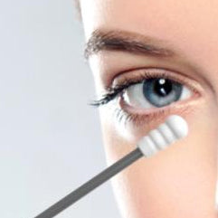 Reusable Silicon Swab with Round Head