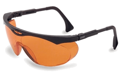 Uvex Orange Glasses