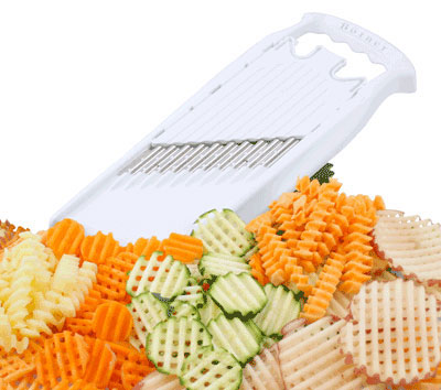 Borner Adjustable WaveWaffle Cutter