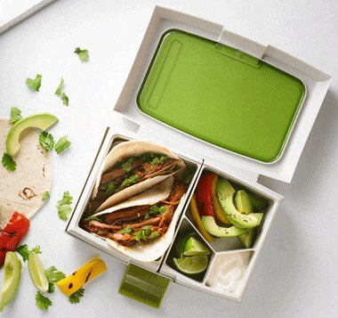 Fuel Bento Lunch Box, inside compartments