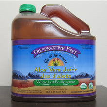 Load image into Gallery viewer, 3.8L Preservative-Free Whole Leaf Aloe Vera Juice