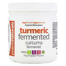 Load image into Gallery viewer, Prairie Naturals - Organic Fermented Turmeric Powder