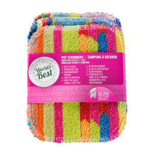 3-Pack of World's Best Flat Pot Scrubbers