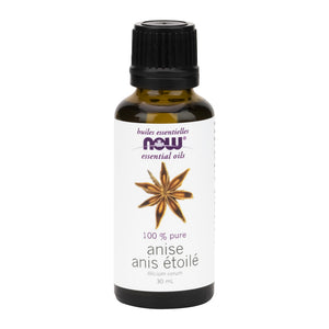 30 ml bottle of NOW 100% Pure Anise Oil