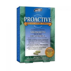 Nu-Life Proactive Saw Palmetto, 60 caplet box