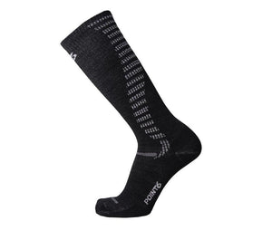 Ultra Light, OTC Compression Sock in Black Surge pattern