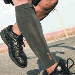 Incrediwear Calf Sleeve on  a jogger