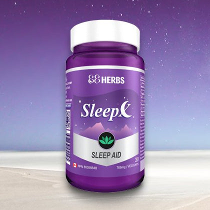 88Herbs SleepX, original bottle