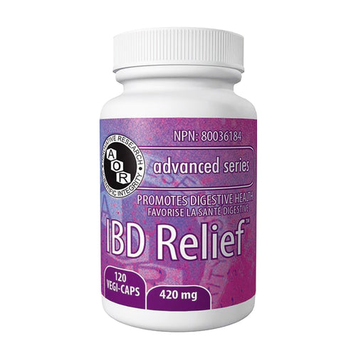 AOR IBD Relief, previous bottle style