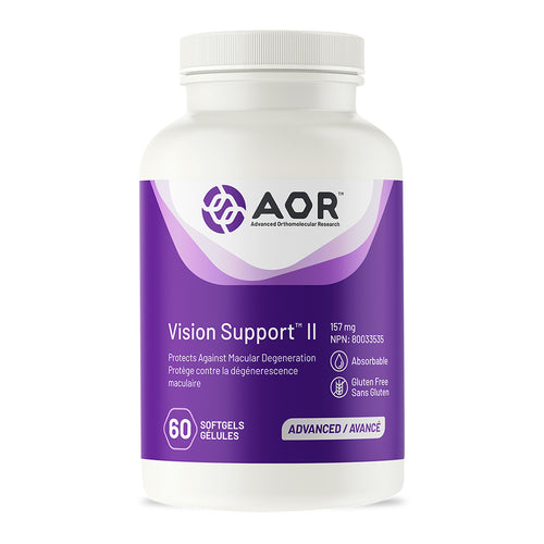AOR Vision Support II. previous bottle style