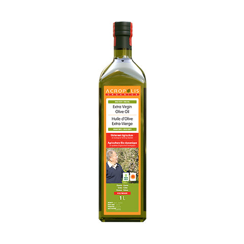 Acropolis Organics - Biodynamic Agriculture Extra Virgin Olive Oil