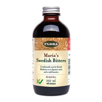 Flora Maria's Swedish Bitters, Alcohol-free