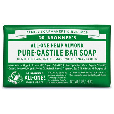 Dr. Bronner's - Hemp Pure-Castile Soap (Bars)